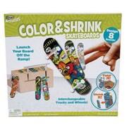 Rose Art® Color and Shrink Skateboards Park Kit Toy (DDK70)