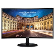 "Samsung 390 Series C27F390 27"" Curved LED LCD Monitor, High Glossy Black"