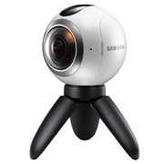 Samsung Gear 360 2MP Digital Camcorder, Silver