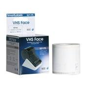 """Seiko SLP-VTL 3.06"""" Video Label Tape, White"""