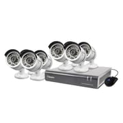 Swann® DVR8-4600Gray/White 8 Channel 1080p Digital Video Recorder with 8 x PRO-A855 Cameras