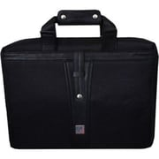 "Urban Factory Business DeLuxe 16"" Black Nylon/Leather Notebook Carrying Case (BDC06UF)"