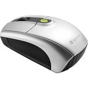 Verbatim Laser Wireless Notebook Mouse, Silver (96672)