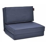 Seventeen Convertible Chair; Dark Blue