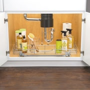 Lynk Professional Deep U-Shaped Roll Out Under Sink Drawer