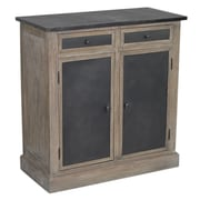 Laurel Foundry Modern Farmhouse Angele 2 Drawer and 2 Door Cabinet