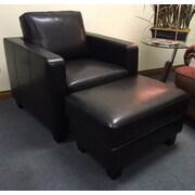 Hokku Designs Enjoy Your Way Of Living Ocala Club Chair and Ottoman