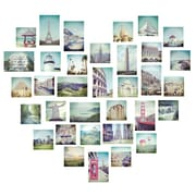 WallPops Love 2 Travel Wall Art Kit 34.5 x 39 Multi-Color (DWPK2150)