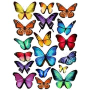 WallPops Papillion Multi Wall Art Kit 24 x 17.5 Multi-Color (WPK2153)