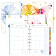 2017 Day-Timer® Kathy Davis 2-Page Per Month Planner Refill, Desk Size (52132-1701)