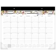 """2017 AT-A-GLANCE® Monique Monthly Desk Pad Calendar, 12 Months, 21 3/4"""" x 15 1/2"""" (D178-704-17)"""