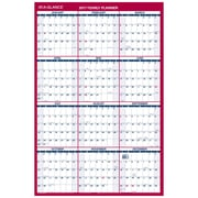 "2017 AT-A-GLANCE® Vertical/Horizontal Erasable Wall Calendar, 12 Months, Reversible, 36"" x 24"" (PM26P-28-17)"