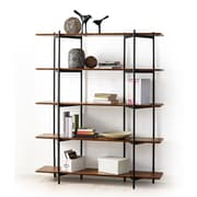 Greenington Studio Metal 66'' Accent Shelves Bookcase