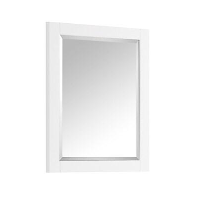 Avanity Wall Mirror; White