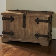 Household Essentials Small Victorian Storage Trunk