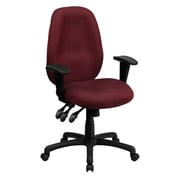 Offex High-Back Desk Chair; Burgundy