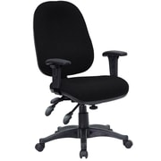 Offex Mid-Back Desk Chair; Black