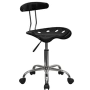 Offex Low-Back Desk Chair; Black