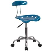 Offex Low-Back Desk Chair; Bright Blue