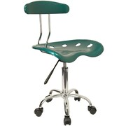 Offex Low-Back Desk Chair; Green