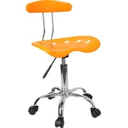 Offex Low-Back Desk Chair; Orange / Yellow