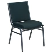 Offex Hercules Series Armless Stacking Chair; Green
