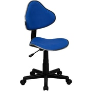 Offex Low-Back Desk Chair; Blue
