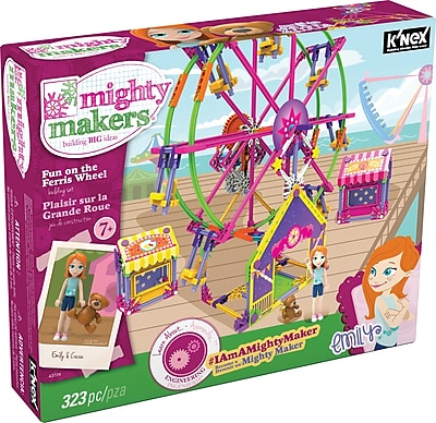 K'NEX Mighty Makers Fun On The Ferris