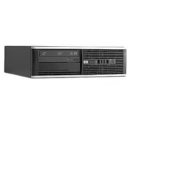 HP Refurbished SFF Desktop (6200), Intel Core i5-2400cessor, 6GB RAM, 500GB HDD, DVD, Windows 10 Pro, English