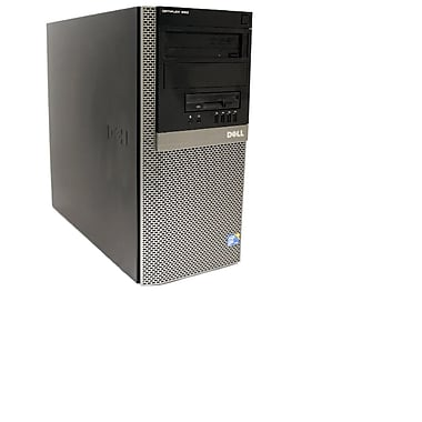Dell – PC Optiplex en tour, modèle 960, remis à neuf Intel Core 2 Duo E8400 (3GHz), Ram 4Go, DD 1 To, DVDRW