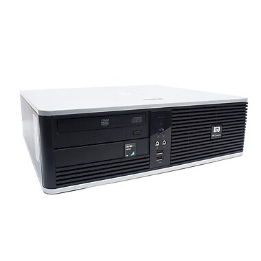 HP Compaq Refurbished Desktop (DC5750 SFF), AMD Athlon 64X2 Dual-Core 3800, 4GB RAM, 250GB HDD, Win 10 Pro, English
