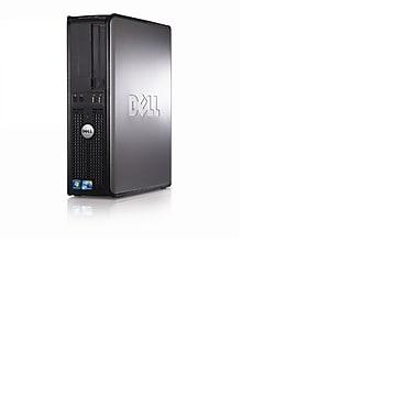 Dell – PC de table GX380, Intel Core 2 Duo 2,93 GHz E7500, RAM 4 Go, dd 500 Go, DVD-RW, Windows 10 Pro, remis à neuf