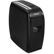 Fellowes® Powershred® 4360001 12 Sheets Cross-Cut Shredder, Black