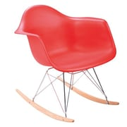 C2A Designs Eiffel Rocking Chair; Red