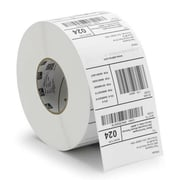 "Zebra® Z-Select® 800272-125 4000T Paper Thermal Transfer Label for Barcode Printers, 2 1/4""(W)"