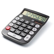 Office + Style 8 Digit Calculator- Black