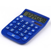 Office + Style 8 Digit Calculator- Blue