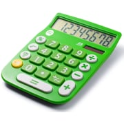 Office + Style 8 Digit Calculator- Green