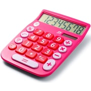 Office + Style 8 Digit Calculator- Pink