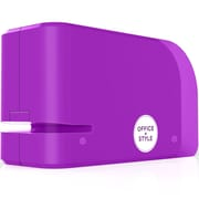 Office + Style Automatic Electric Stapler- Purple