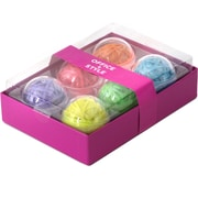 Office + Style 6 Large Colored Rubber Band Balls