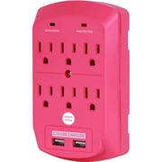 Office + Style wall surge protector - Pink