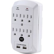 Office + Style wall surge protector - White