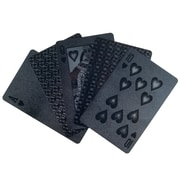 Poker Devil Black Embossed Playing Cards