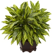 Nearly Natural Tradescantia Plant in Planter
