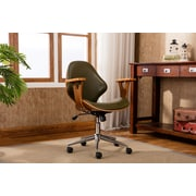 Porthos Home Lillian Adjustable Office Chair; Green