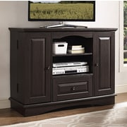 Walker Edison TV Stand; Traditional Brown