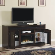 Classic Flame Endzone TV Stand w/ Electric Fireplace