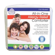 Fresh Ideas Breathable Allergy Relief All-In-One All Season Down Alternative Comforter; Twin