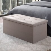 Fresh Ideas Storage Trunk; Beige